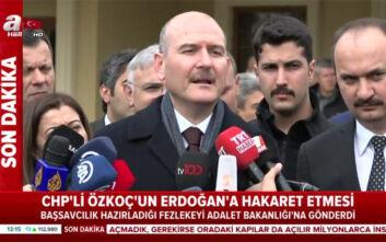 Υπουργός Εσωτερικών της Τουρκίας σε δημοσιογράφο: «Μήπως εργάζεσαι για την Ελλάδα;»