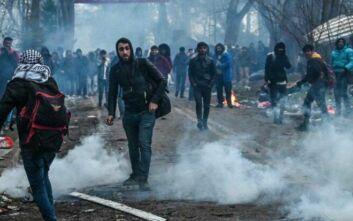 Νέα ένταση στον Έβρο: Επεισόδια μεταξύ αστυνομικών και μεταναστών
