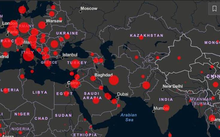 Κορονοϊός στον κόσμο από λεπτό σε λεπτό - Σχεδόν 36.000 άνθρωποι έχουν πεθάνει