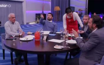 Masterchef 4: Έξαλλοι οι καλεσμένοι σεφ - «Δεν είναι σωστό αυτό που γίνεται, φύγε από εδώ»