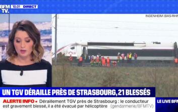Εκτροχιασμός τρένου υψηλής ταχύτητας στη Γαλλία, είκοσι τραυματίες