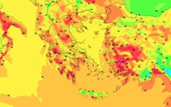 Καιρός: Έρχεται… καλοκαιράκι - Ανεβαίνει η θερμοκρασία, πού μπορεί να φτάσει έως 25 βαθμούς