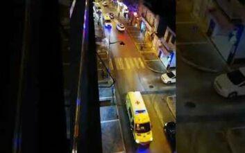 Κορονοϊός: Ασθενοφόρα του ΕΚΑΒ «αναστάτωσαν» για καλό σκοπό την πόλη της Κοζάνης