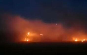 Ένταση τώρα στις Καστανιές - Μολότοφ, φωτιές και χημικά στα σύνορα στον Έβρο