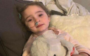 Κινδύνεψε η ζωή 4χρονης από επιπλοκή της γρίπης - Έχασε για δύο μήνες την όρασή της