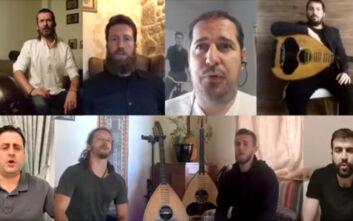Ποιος είδε άνοιξη καιρό: Το τραγούδι που δημιουργήθηκε για να βοηθήσει στη μάχη κατά του κορονοϊού