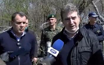 Στον Έβρο Χρυσοχοΐδης - Παναγιωτόπουλος: «Σε εγρήγορση οι ένοπλες δυνάμεις»