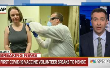 Κορονοϊός: Πρώτο δοκιμαστικό εμβόλιο σε 43χρονη μητέρα - «Νιώθω υπέροχα» λέει η ίδια
