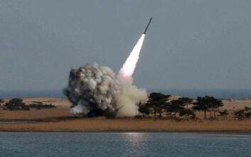 Νότια Κορέα: Η Βόρεια Κορέα εκτόξευσε έναν πύραυλο «αγνώστου τύπου»