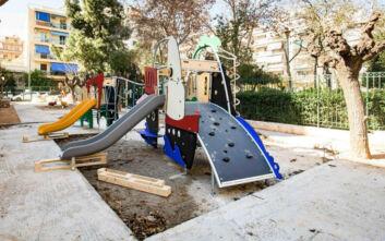 Δήμος Αθηναίων: Ανακαινίζονται πλήρως 19 παιδικές χαρές