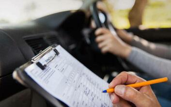 Αναστολή στις εξετάσεις για δίπλωμα οδήγησης έως τις 30 Απριλίου - Παράταση στα ΚΤΕΟ