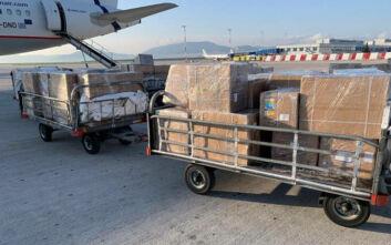 Έφτασαν στην Ελλάδα 1,7 εκατομμύρια μάσκες από την Κίνα