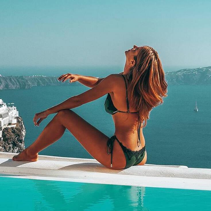 Η εντυπωσιακή Δάφνη Καλύβα διαφημίζει την ελληνική ομορφιά στο εξωτερικό – Newsbeast