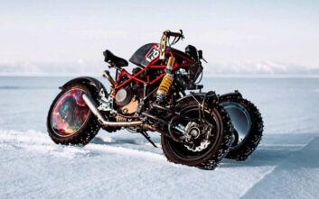 Η Ducati Hypermotard απέκτησε... τρεις ρόδες