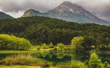 Υπέροχες εικόνες από τη λίμνη Δόξα