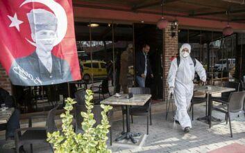 Τουρκία - Κορονοϊός: 108 οι νεκροί, 7.402 επιβεβαιωμένα κρούσματα