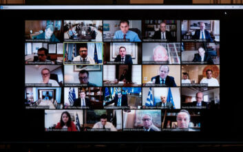 Πώς έγινε το υπουργικό συμβούλιο μέσω βιντεοδιάσκεψης - Συνέβη για πρώτη φορά
