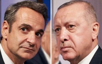Τηλεφωνική επικοινωνία Μητσοτάκη - Ερντογάν για τον φονικό σεισμό που δοκιμάζει Ελλάδα και Τουρκία
