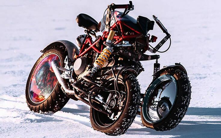 Η Ducati Hypermotard απέκτησε… τρεις ρόδες – Newsbeast