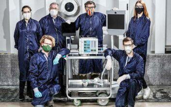 Η NASA κατασκεύασε μηχανικό αναπνευστήρα μέσα σε 37 ημέρες
