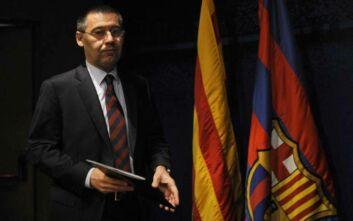 Μπαρτσελόνα: Κατατίθεται πρόταση μομφής κατά του Μπαρτομέου