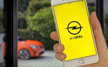 Εφαρμογή «myOpel» για τα ηλεκτρικά