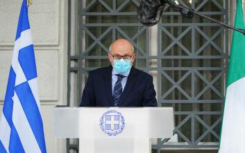 Ιταλός πρέσβης: Στεκόμαστε δίπλα στην Ελλάδα στη μάχη του κορονοϊού