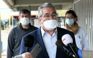 Κουτσούμπας από το Θριάσιο: Το ΚΚΕ στηρίζει τον δίκαιο αγώνα των υγειονομικών