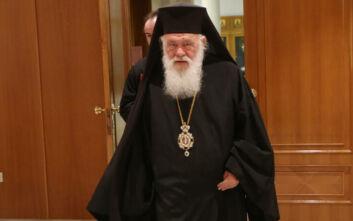 Αρχιεπίσκοπος Ιερώνυμος: Παραμένει σταθερή η κατάσταση της υγείας του