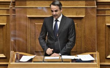 «Καμπανάκι» Μητσοτάκη για την οικονομία και ιδεολογική κόντρα με Τσίπρα