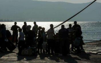 Στη βόρεια Ελλάδα 139 αιτούντες άσυλο από τη Λέσβο