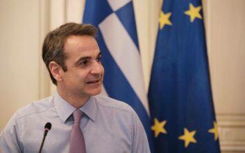 Μητσοτάκης: Η εθελοντική προσφορά ενισχύθηκε στην Ελλάδα
