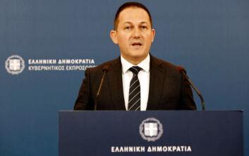 Ενημέρωση από τον κυβερνητικό εκπρόσωπο Στέλιο Πέτσα