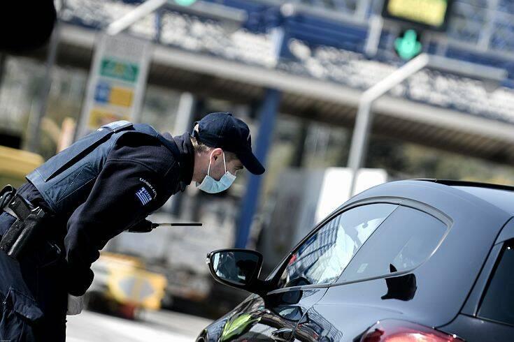 Απαγόρευση κυκλοφορίας: Πάνω 2.400 παραβάσεις για άσκοπη μετακίνηση την Παρασκευή