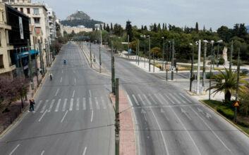 Δευτέρα του Πάσχα: Με πόλη φάντασμα έμοιαζε η Αθήνα