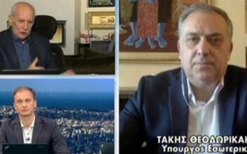 Θεοδωρικάκος: Ανεύθυνη σήμερα η συζήτηση για μείωση μισθών στο Δημόσιο