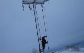 ΔΕΔΔΗΕ: Εργασίες για την αποκατάσταση της ηλεκτροδότησης σε περιοχές της Βόρειας Ελλάδας