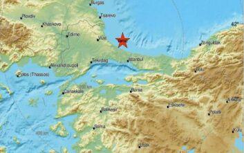 Σεισμός τώρα βόρεια της Κωνσταντινούπολης