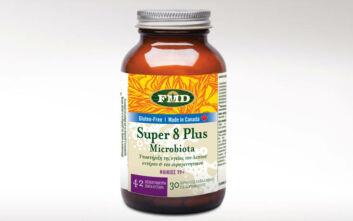 Super 8 Plus Microbiota: Ενισχυμένη προβιοτική άμυνα απέναντι σε ουρολοιμώξεις, μυκητιάσεις και candida