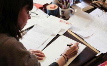 Συγκινημένη η ΠτΔ από τα γράμματα μαθητών του δημοτικού σχολείου Αγίας Τριάδας Θεσσαλονίκης