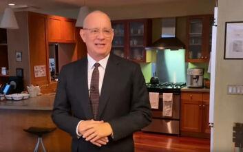 Ο Τομ Χανκς οικοδεσπότης του Saturday Night Live, μετά την περιπέτεια με τον κορονοϊό