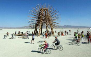 Ακυρώνεται για πρώτη φορά το δημοφιλές φεστιβάλ Burning Man