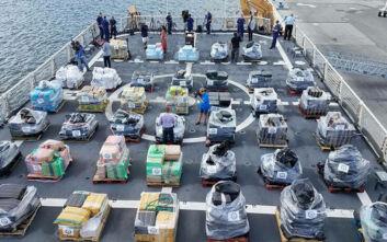 Βαρόνοι ναρκωτικών από τη Λατινική Αμερική μετέφεραν 5 τόνους κοκαΐνης σε φορτίο με καλαμάρια