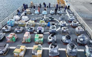 Καραβιές με τόνους κοκαΐνης από τη Νότια Αμερική στο Βέλγιο λόγω... κορονοϊού