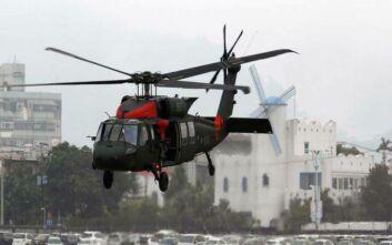 Συνετρίβη το ελικόπτερο του ΝΑΤΟ που αγνοούταν στα ανοιχτά της Κεφαλονιάς