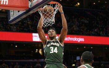 Οι καλύτερες στιγμές του Γιάννη Αντετοκούνμπο στο NBA την τελευταία πενταετία