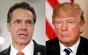 Ο Άντριου Κουόμο δεν πρόκειται να υπακούσει σε εντολές του Τραμπ για άρση του lockdown στη Νέα Υόρκη