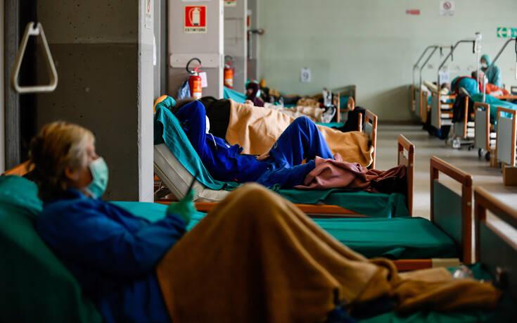 Σε λιγότερο σοβαρή κατάσταση οι ασθενείς κορονοϊού στην Ιταλία