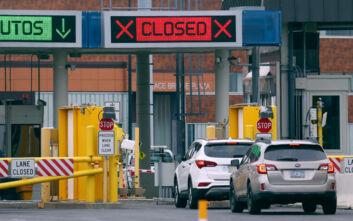 Μέχρι τέλη Σεπτέμβρη κλειστά τα διεθνή σύνορα του Καναδά