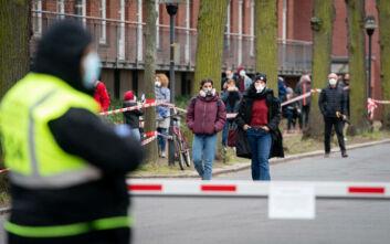 Το Βερολίνο αποσύρει τις κατηγορίες ότι οι ΗΠΑ κατέσχεσαν μάσκες για τον κορονοϊό